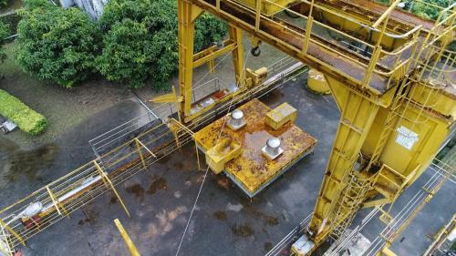 木瓜溪流域榕樹電廠機組用起重機