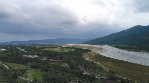 木瓜溪流域初英電廠遠眺木瓜溪