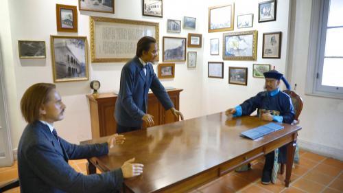 高雄港>英國領事館:1877年計畫興建,1879年完工
