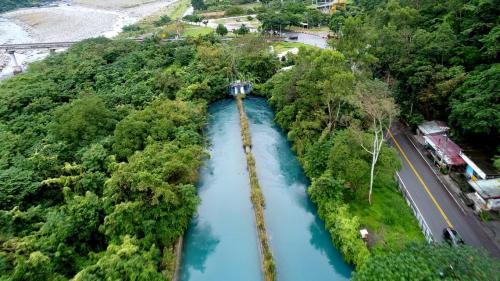 木瓜溪流域初英電廠沉沙池
