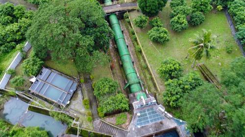 木瓜溪流域初英電廠前池及壓力鋼管
