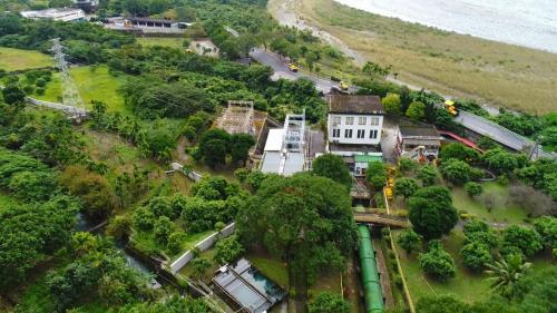 木瓜溪流域初英電廠俯瞰