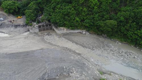 高屏溪流域竹門電廠取水口