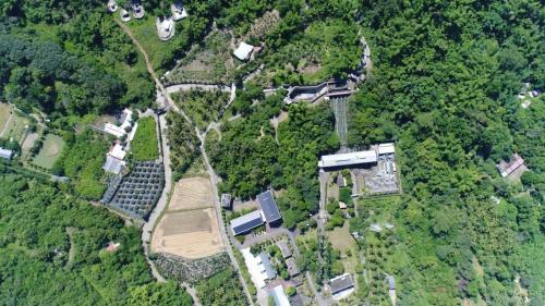 高屏溪流域竹門新舊電廠俯瞰