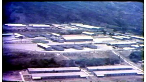 榮工在位於工區附近的鹽水堀,興建一萬多平方公尺的施工房舍與倉庫,供工程人員辦公以及住宿之用。