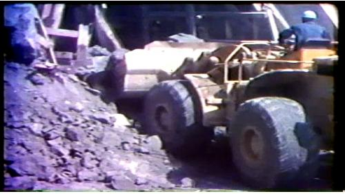 榮工處承辦之曾文水庫導水隧道工程施工