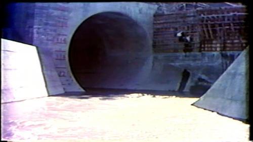 榮工處承辦之曾文水庫導水隧道出口