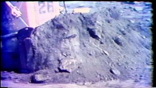 榮工處承辦之曾文水庫溢洪道開挖工程