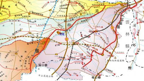 早期的農田水利開發在日治時期有嘉南大圳之濁幹線及斗六大圳的興建。