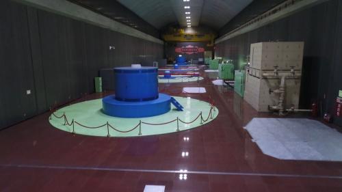 濁水溪流域的日月潭明湖電廠(大觀二廠)