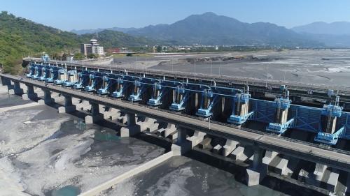 濁水溪集集攔河堰