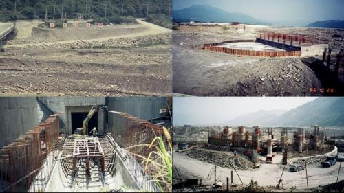 集集攔河堰1991年10月開工(北岸聯絡渠先動工),2001年12月完工試運轉。北岸取水口計畫取水量為每秒70立方公尺。