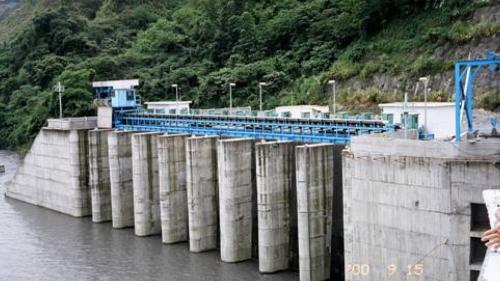 濁水溪集集攔河堰南岸取水口