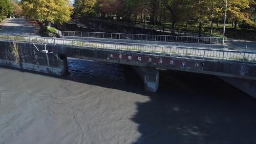 濁水溪集集攔河堰南岸聯絡渠道進水口