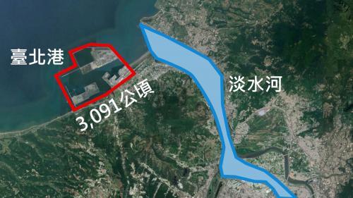 台北港地理位置
