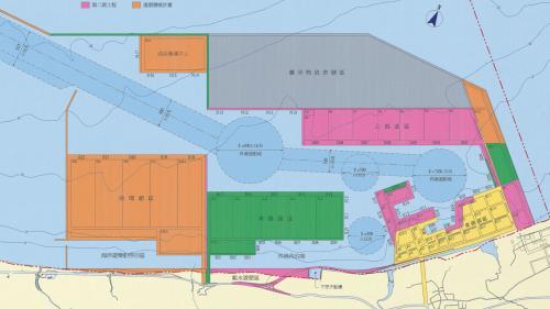 台北港建港工程圖