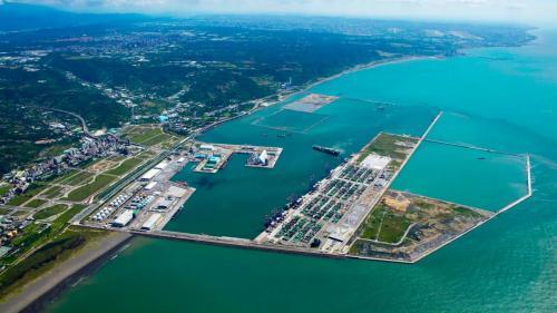 台北港2016年俯瞰