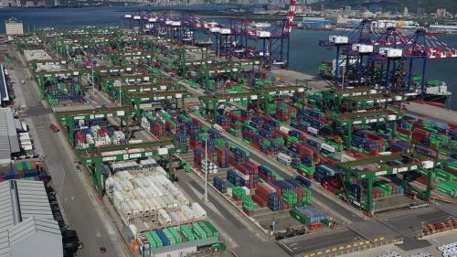 台北港俯瞰