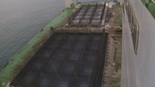 台北港第二期工程第一個5年計畫,興建延伸北碼頭區防坡堤工程用之沉箱製作之,鋼筋綁紮及混凝土澆置。