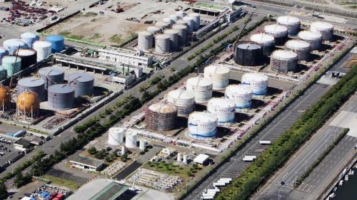 總容量約19萬公秉, 2002年台塑石化公司取得營業許可,開始加入東碼頭區經營石化油品儲運加工加值。