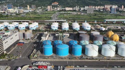 台北港第二期工程第二個五年計畫增建臨時化油品儲槽