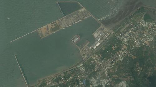 台北港第二期工程第三個五年計畫(2007年~2011年)項目圖
