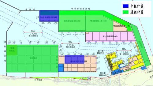 台北港中遠程新生地標示圖