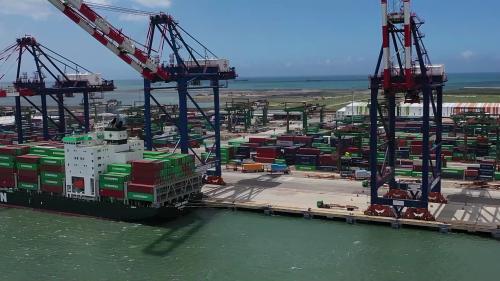 台北港北區第五及六號貨櫃碼頭
