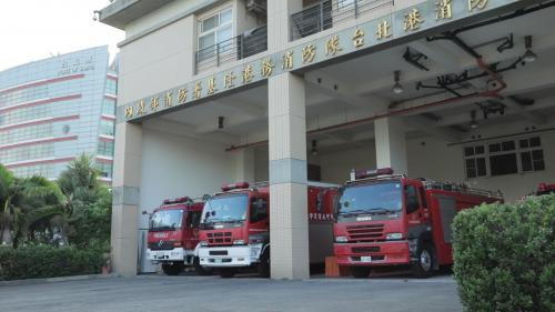台北港消防大樓