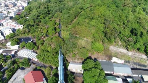 因林內鄉高山多,建立了5個渡槽(連接山與山之間),將水引至需要灌溉的地方