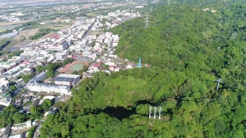 斗六大圳流經林內鄉山區之渡槽