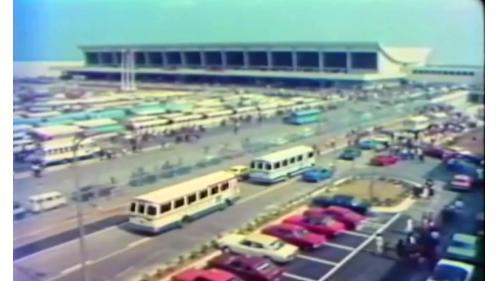十大建設之桃園國際機場舊照