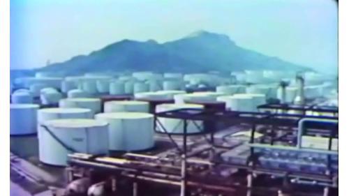 榮工處承建十大建設之石油化學工業區舊照