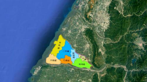 莿仔埤圳的大大小小水路,延展於溪州、埤頭、二林,芳苑、北斗、竹塘、大城等聚落。