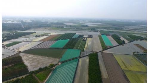 箣仔埤圳灌溉地區溪州鄉農田俯瞰