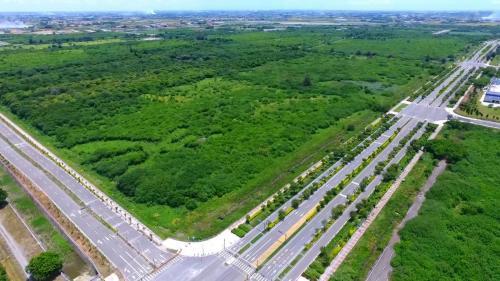 莿仔埤圳灌溉區域內的中科四期預定地