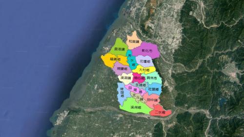 八堡圳本流長達49公里、分流總長為 115公里、灌溉面積廣達18530公頃,灌溉面積涵蓋一半以上的彰化縣城。