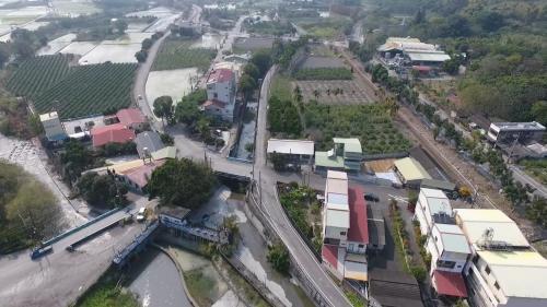 八堡圳取入口制排水門俯瞰