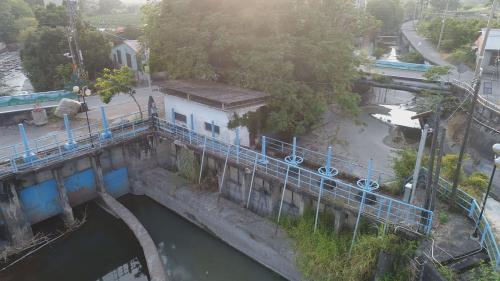 八堡圳取水制排水門(現已停用)