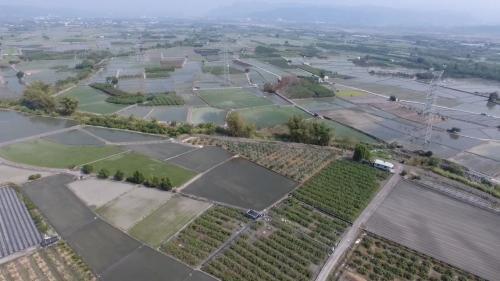 灌溉面積最大約為18000多公頃