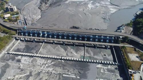 八堡圳水源集集攔河堰