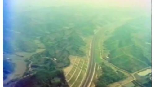 榮工處承辦之中山南北高速公路工程種植草坪對邊坡加以保護