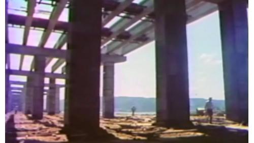 榮工處承辦之中山南北高速公路橋梁