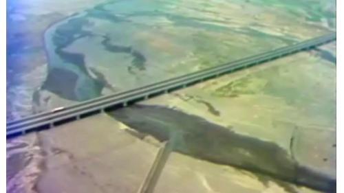榮工處承辦之中山南北高速公路橋梁舊照