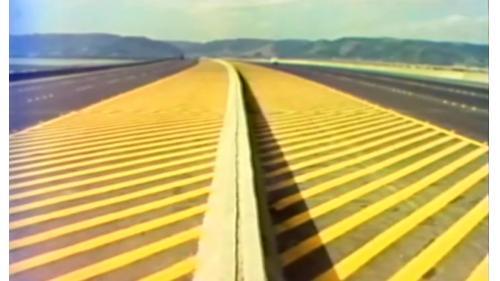 榮工處承辦之中山南北高速公路鋪設完工