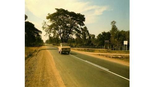 榮工處施工完成的泰國公路