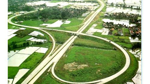 榮工處承接的海外公路工程-印尼萬隆高速公路工程