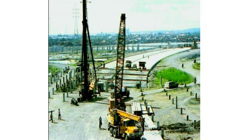 榮工處承接的海外公路工程-印尼泗水瑪瑯高速公路工程