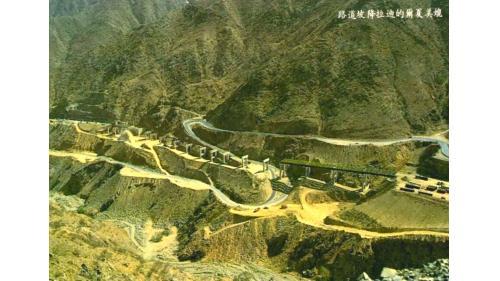 榮工處承接的海外公路工程-沙烏地迪拉降坡道路