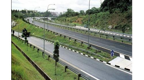 榮工處承接的海外公路工程-新加坡快速道路工程